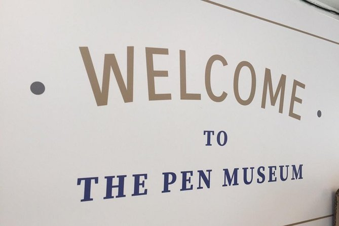 The Pen Museum Admission Ticket