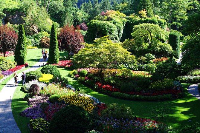 Victoria Butchart Gardens & Sightseeing Tour