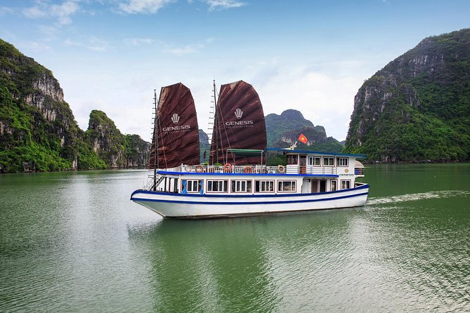Small-Group Day Tour in Halong Bay with Luxury Shuttle and Highways