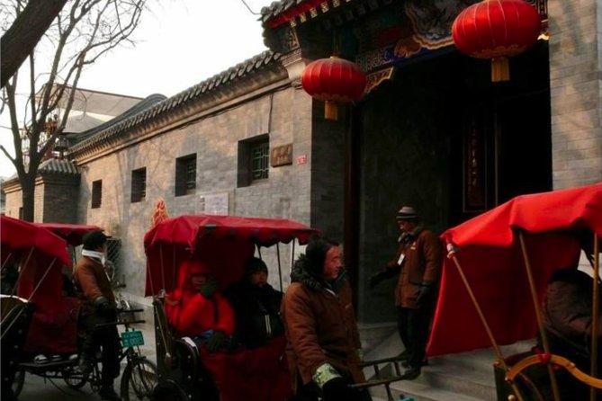 Beijing Day Tour Hutong Rickshaw Tour, Lama Temple and Old City Tour