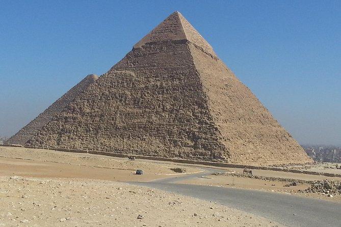 The pyramids half day tour