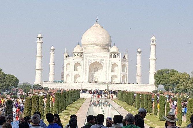 Luxury Full Day Taj Mahal Day Trip From Delhi