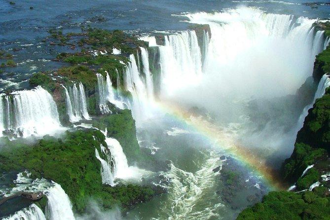 Ida e volta do aeroporto IGU e lado brasileiro das Cataratas do Iguaçu