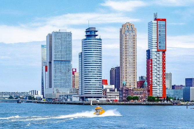 Rotterdam, Delft and The Hague live Guided Tour with Amsterdam Canal Cruise