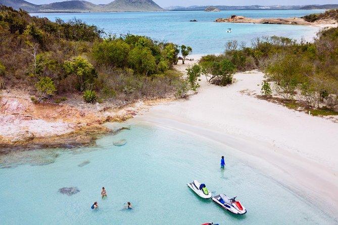 2hr Jet Ski Antigua Guided Jet Ski Tour with Cades Reef Snorkeling