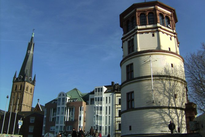 Two hour history tour of the old center of Düsseldorf