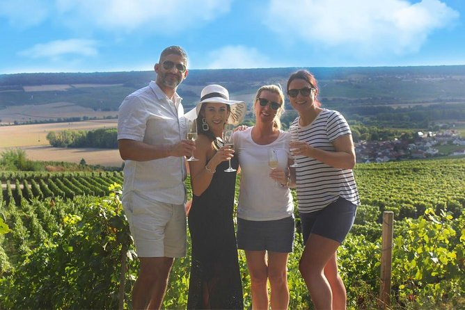 Champagne Tour with Epernay & Champagne Tastings in a Local Vineyard from Paris