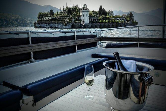 Micaela's exclusive private sunset cruise on lake Maggiore