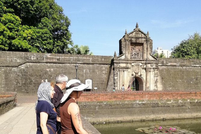 Fort Santiago gate and moat