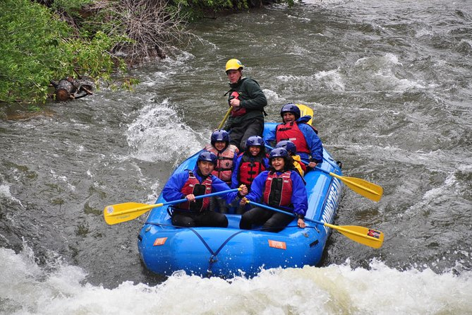Beginner Whitewater Rafting on Historic Clear Creek Park