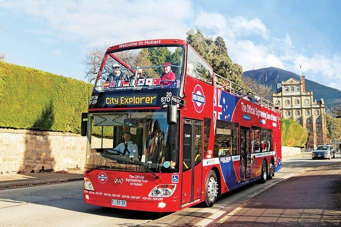 Kunanyi/Mt Wellington Tour & Hobart Hop-On Hop-Off Bus