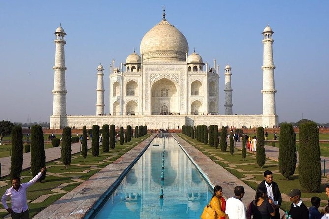 Golden Triangle Tour by an AC private cab at disposal for 5 Days
