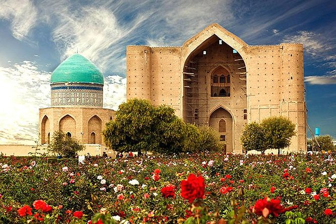 World Famous Mausoleum in Turkestan City, 1 Day Tour