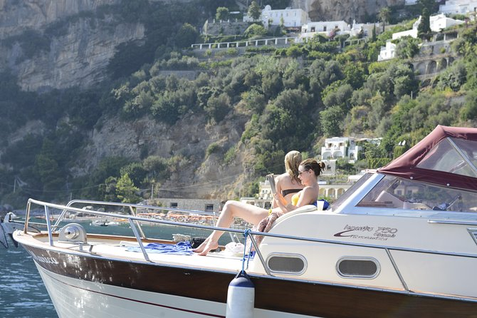 Sorrento Coast and Capri boat tour from Positano