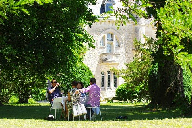 Excursão privada: Degustação de Vinho des Châteaux na Rota de St-Emilion saindo de Bordeaux