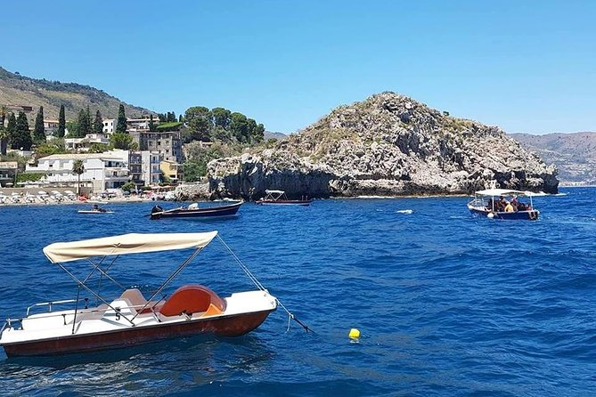 Taormina and Isola Bella Day Tour Including Boat Tour