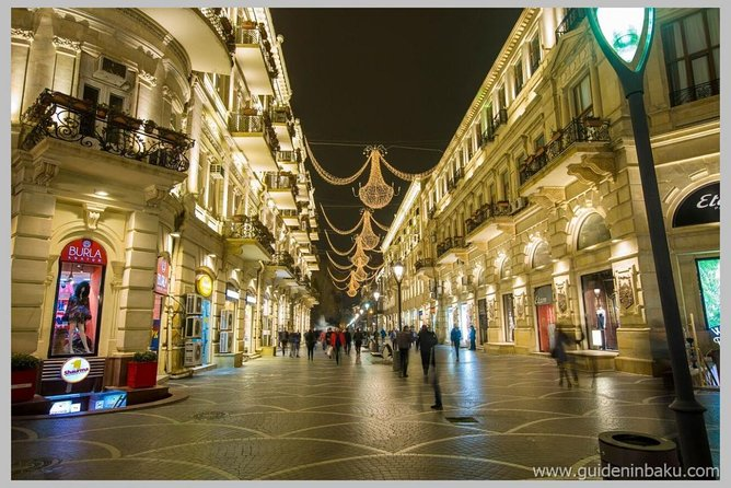 Night Baku Excursion photo 1