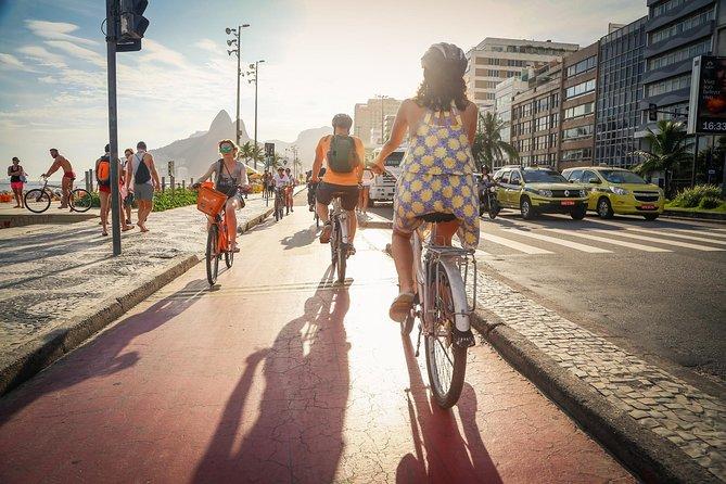 Rio de Janeiro Bike Tour: Beaches, Lagoon, Botanical Garden and Sunset
