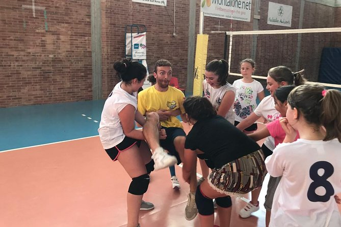 Volleyball course for children