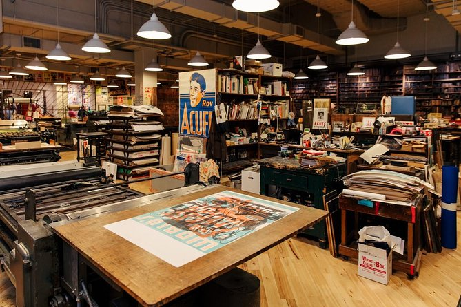 Hatch Show Print Guided Studio Tour with Souvenir Poster photo 11