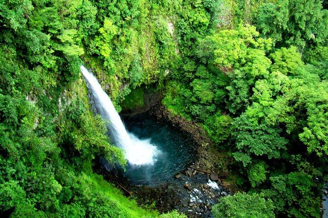 Zipline over La Fortuna Waterfall