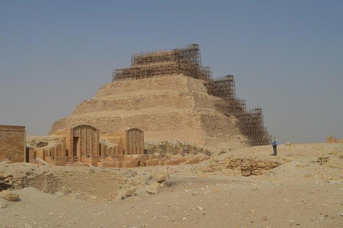 Unknown Pyramids tour: Saqqara, Dahshur & Memphis city excursion from Cairo
