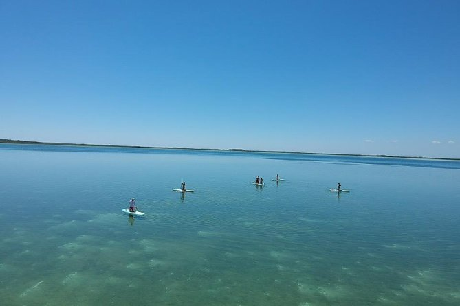 Stand Up Paddle Yoga Class at Private Lagoon