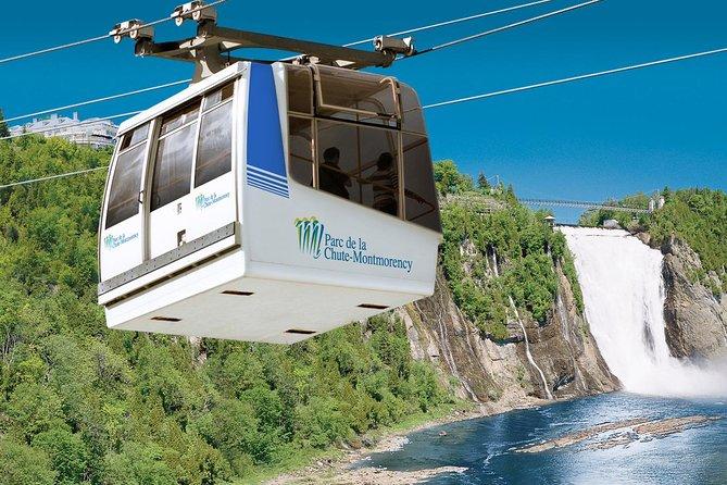 Parc de la Chute-Montmorency Waterfalls Admission and Cable Car