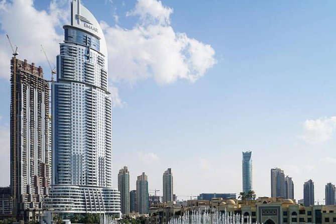Burj Khalifa At TheTop 124th Floor with Dubai mall &fountain,Morning & Afternoon
