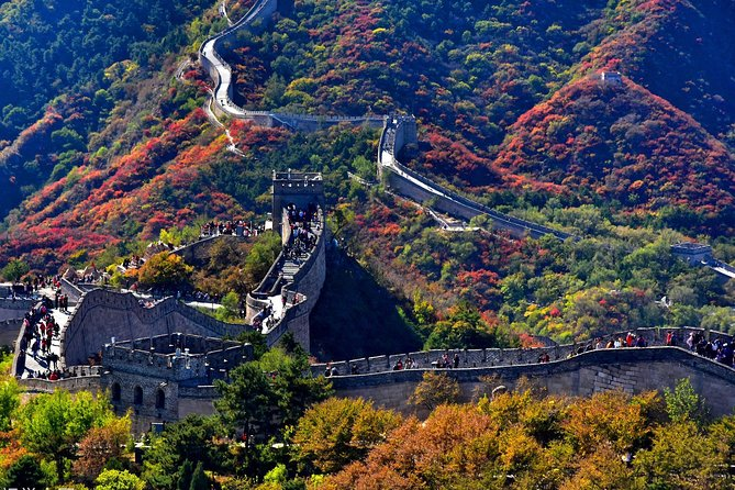 Beijing Airport Layover Mutianyu Great Wall Tour with Round Trip Transfer