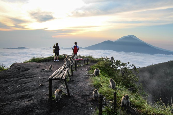 Batur Volcano Sunrise Trekking & Natural Hot Spring