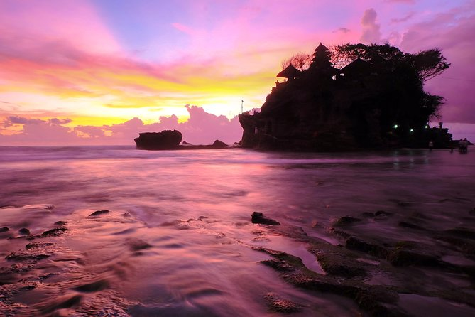 Monkey Forest Ubud and Tanah Lot Sunset Half Day Tour