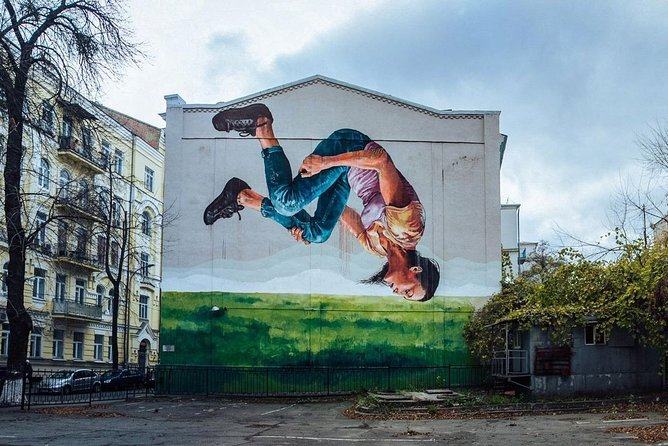 Street Art and Murals - Kiev Off the Beaten Track!