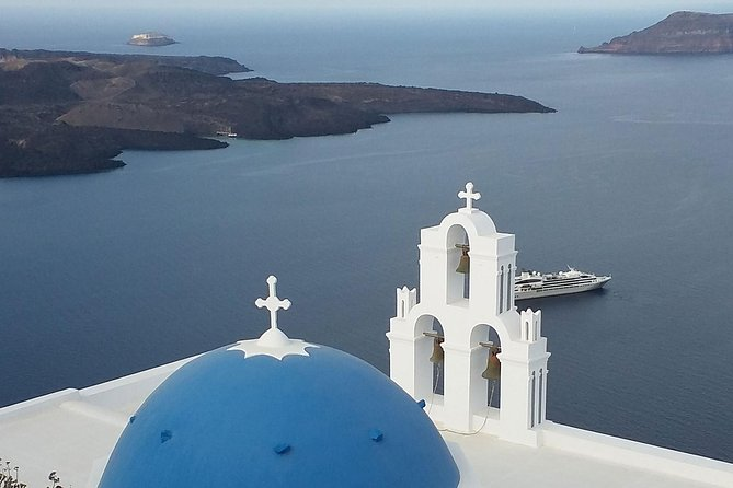 5 Hours Santorini most attractive sightseing roundtrip