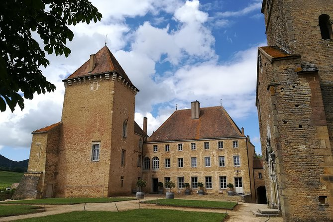 Private Castles of Burgundy Tour with Wine Tasting from Lyon