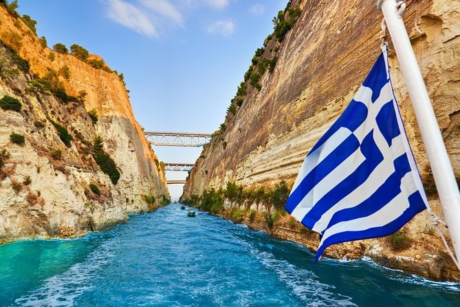 Ancient Olympia and Corinth Canal Private Day Trip from Athens