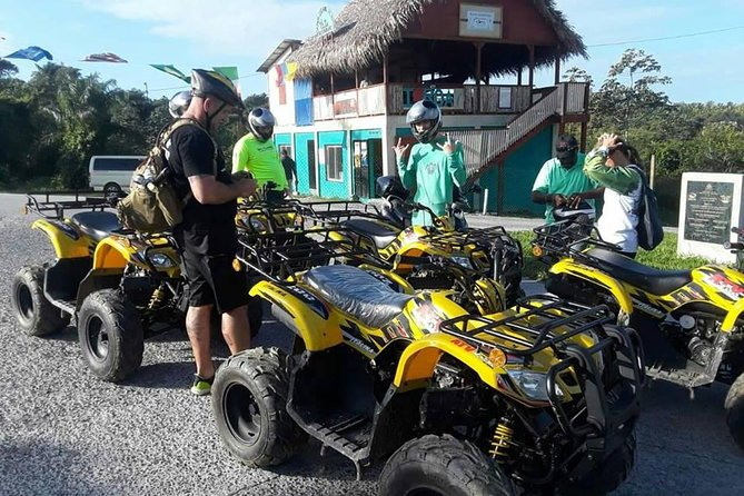 ATV off road adventure and lunch