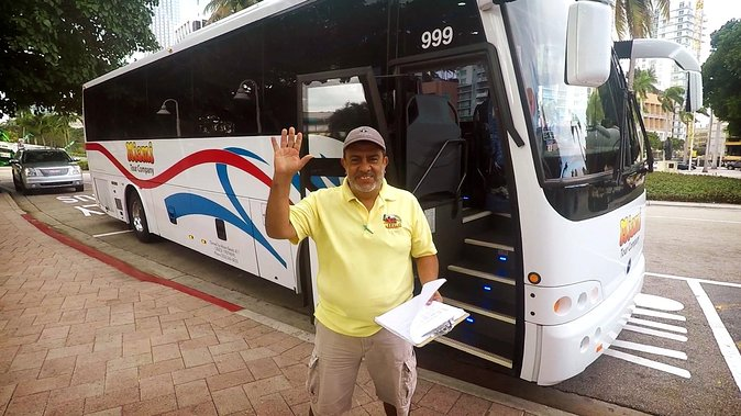 Discover Miami with the City Tour in a Luxury Bus