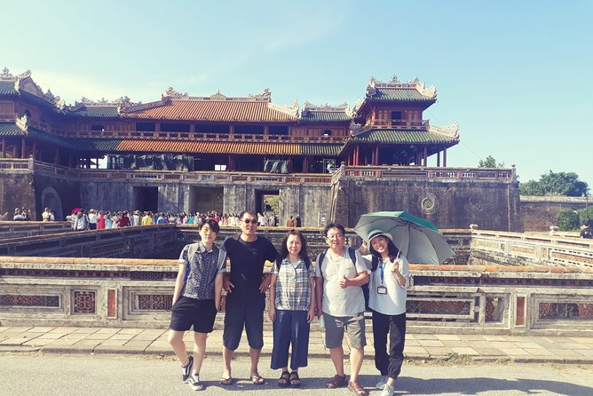 IMPERIAL CITY, Royal King's Tomb with Lunch Private Tour from Da nang or Hoi An