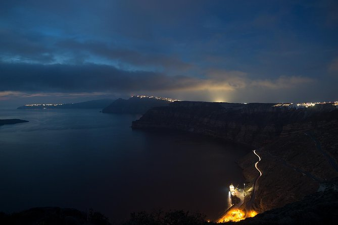 Santorini by Night with a Photography Workshop