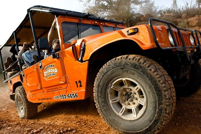 Cliff Hanger Trail: Sedona 4WD Hummer Experience
