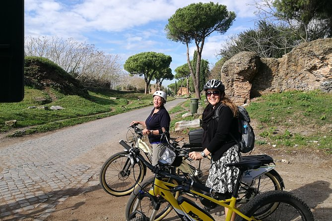 Ancient Appian Way PRIVATE e-bike Tour