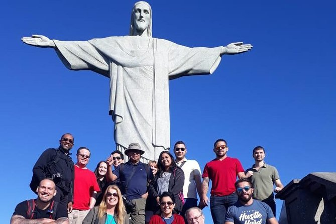 Full Day City Tour: Christ Redeemer, Sugarloaf, Selaron Staircase, Maracanã
