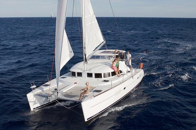 Catamaran Day & Sunset Cruises with meals Drinks and transportation