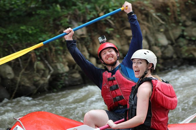 Whitewater and Wildlife Rafting Class 2-3 Balsa River from La Fortuna