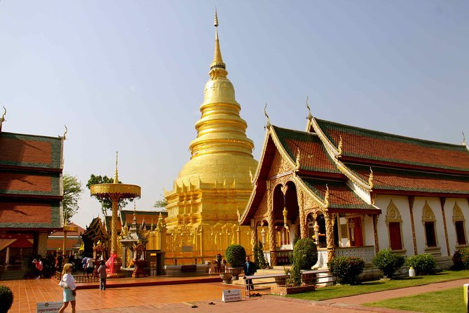 Full Day Ancient Lamphun & Hariphunchai Tour from Chiang Mai including Lunch