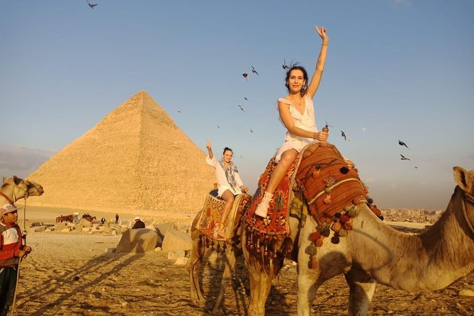 Giza Pyramids & Sphinx with Camel Ride Private Tour