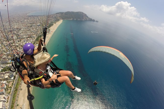 Tandem Paragliding in Alanya 2020