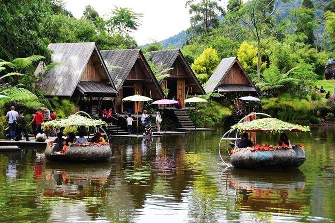 Bandung Bamboo Village with Lembang Floating Market & Farm House
