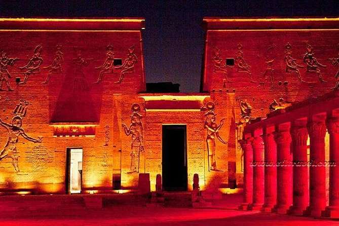 Sound & Light in Phile Temple Aswan